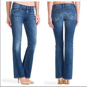 COH Dita Petite Bootcut Leg Mid Rise Denim Jeans